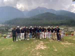 Indian Dental fraternity golfing Kashmir